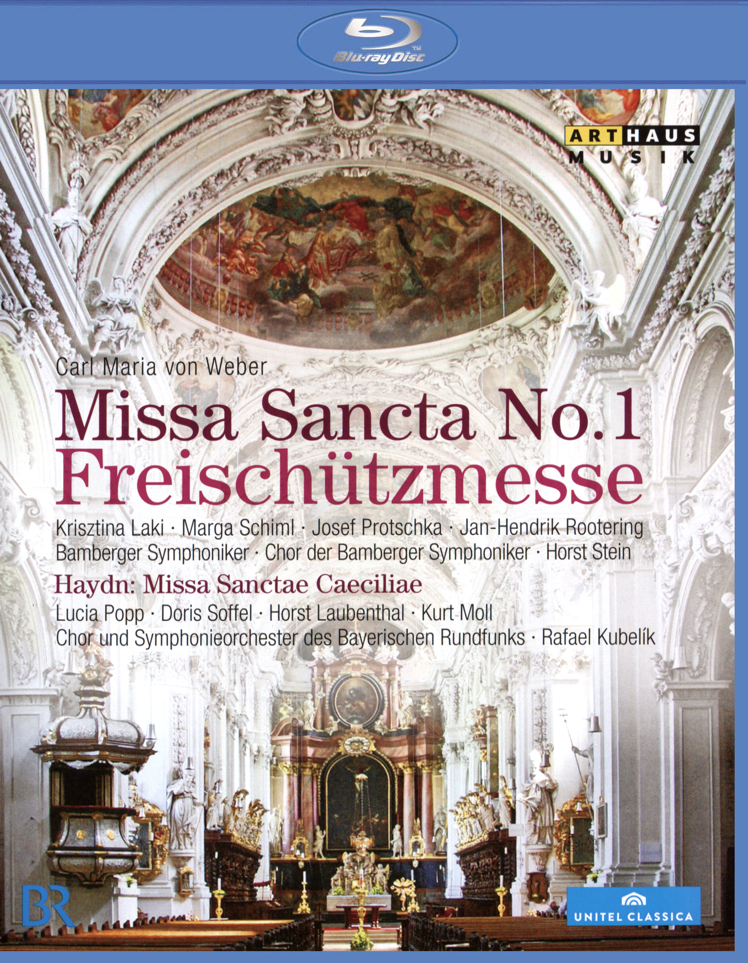 Von Weber: Missa Sancta No. 1 - Freischützmesse/Haydn: Missa Sanctae Caeciliae