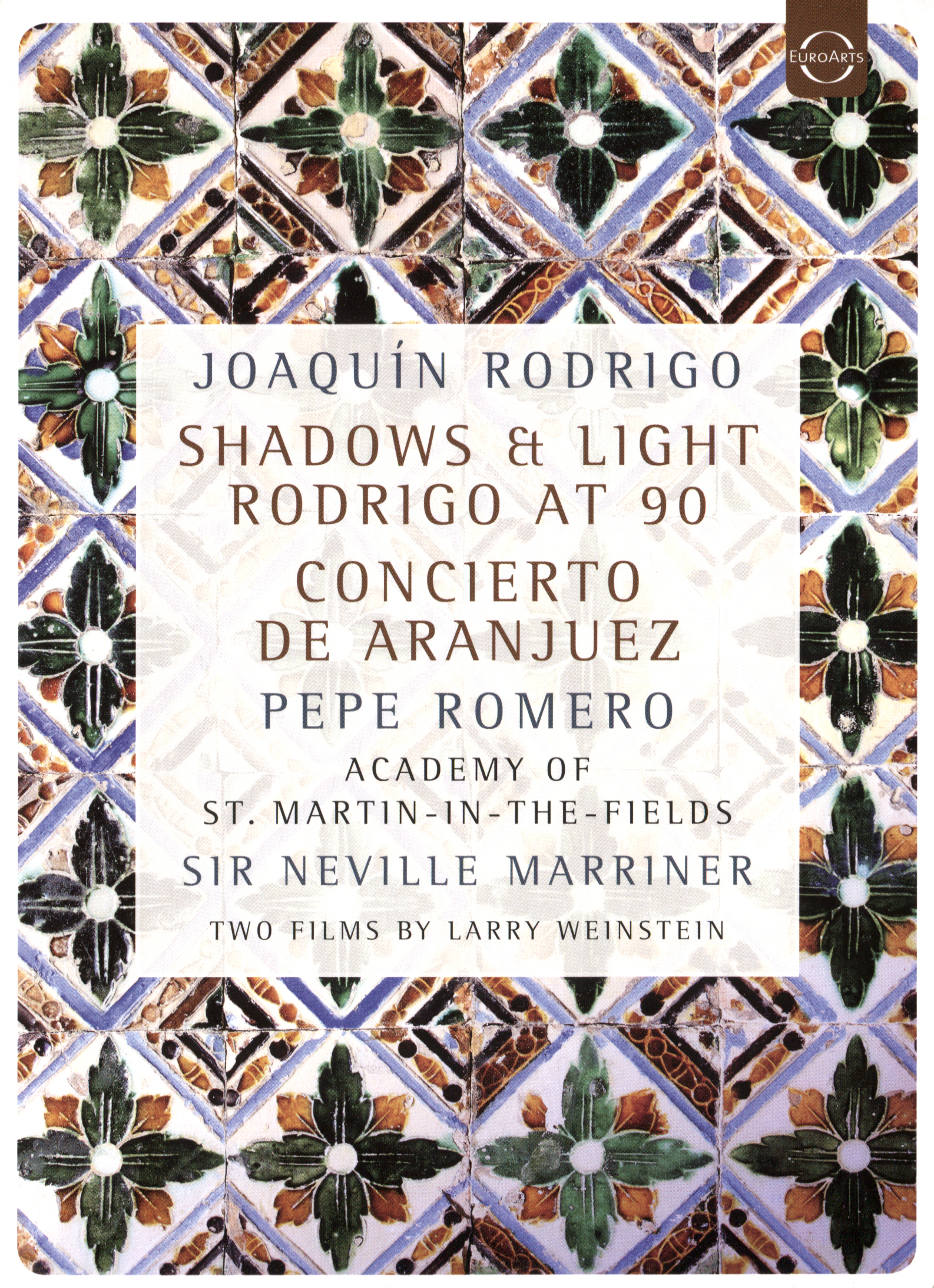 Joaquín Rodrigo: Shadows & Light - Rodrigo at 90 - Concierto De Aranjuez