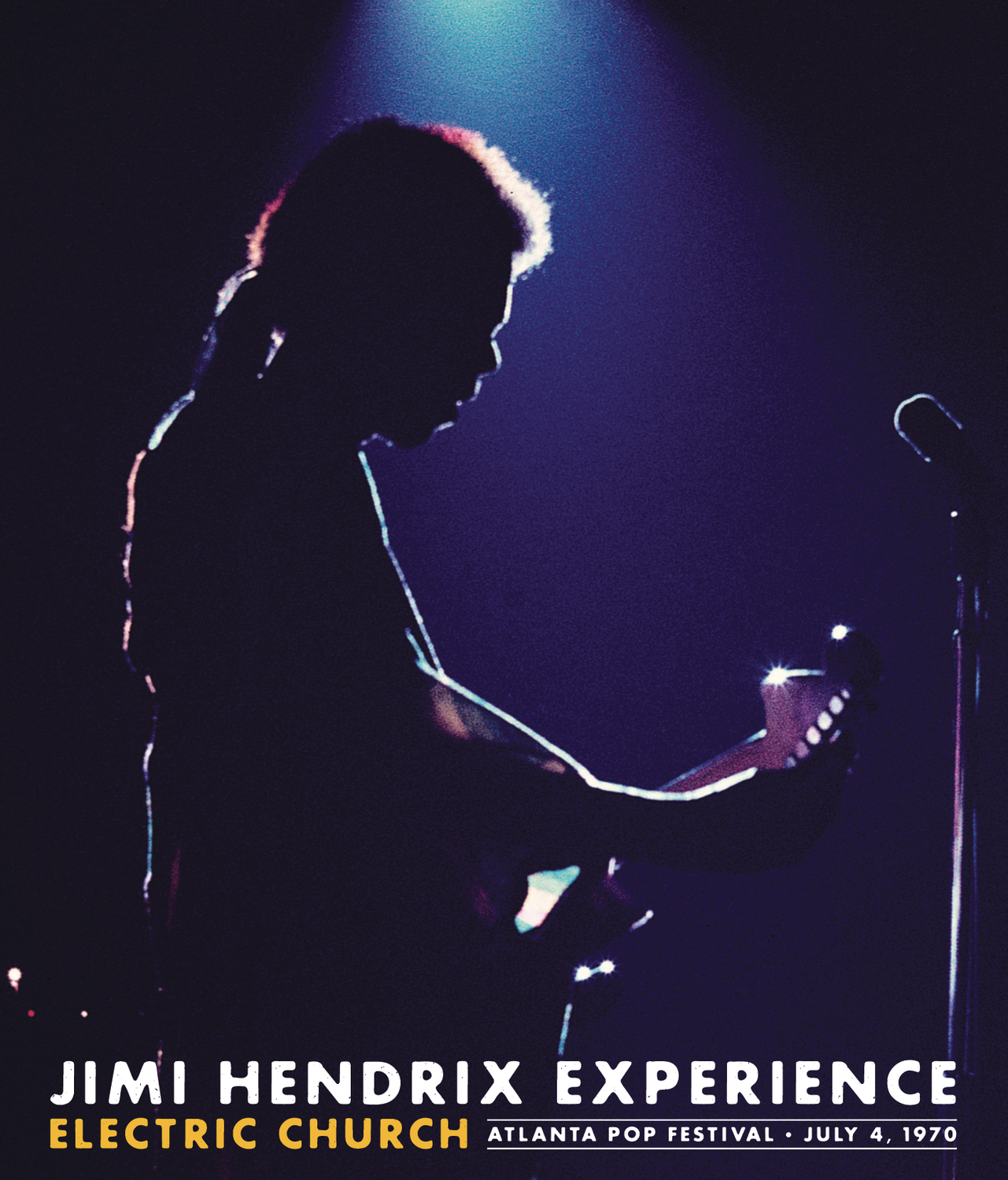 Jimi Hendrix Experience: Electric Church - Atlanta Pop Festival