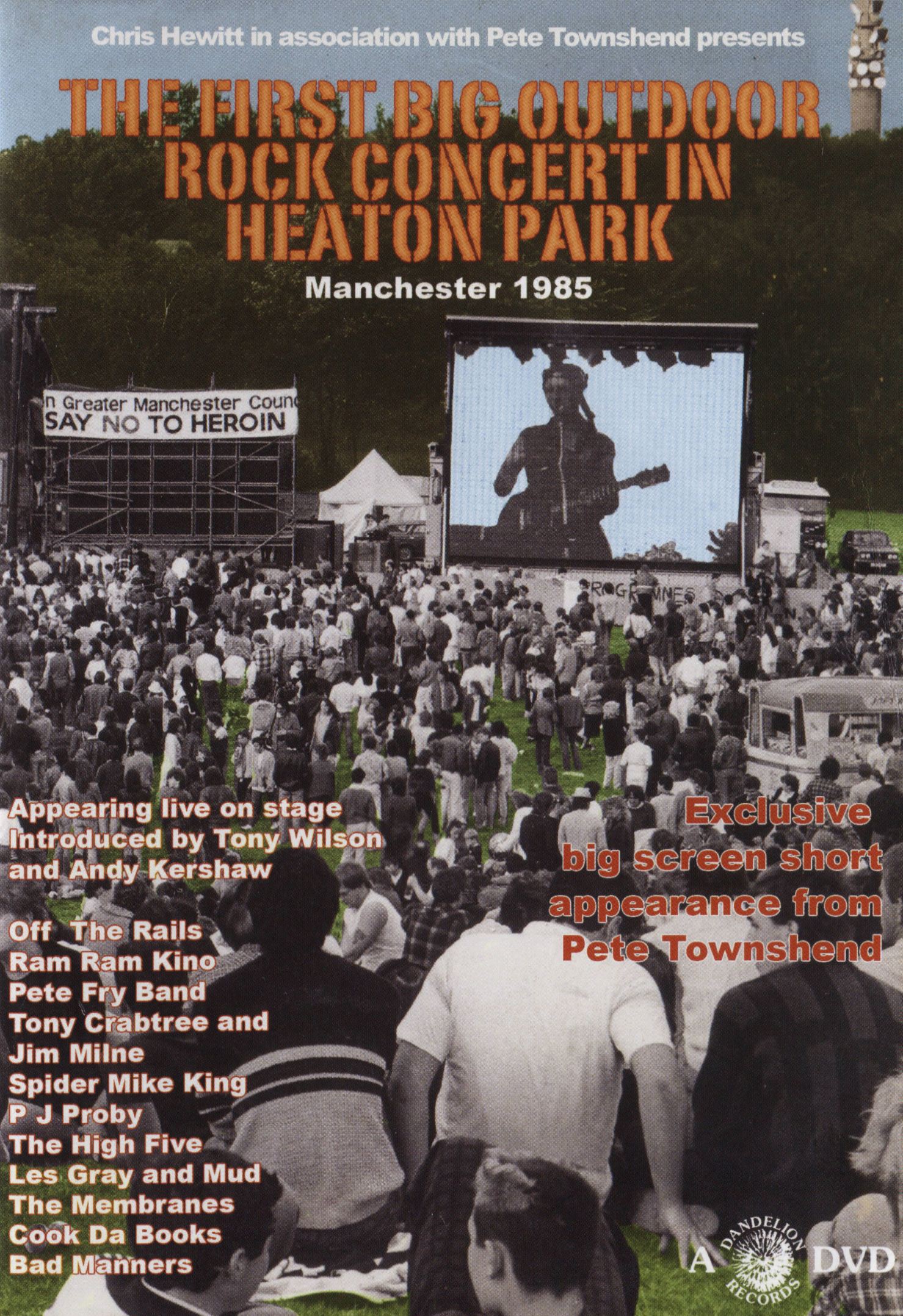 The First Big Outdoor Rock Concert in Heaton Park