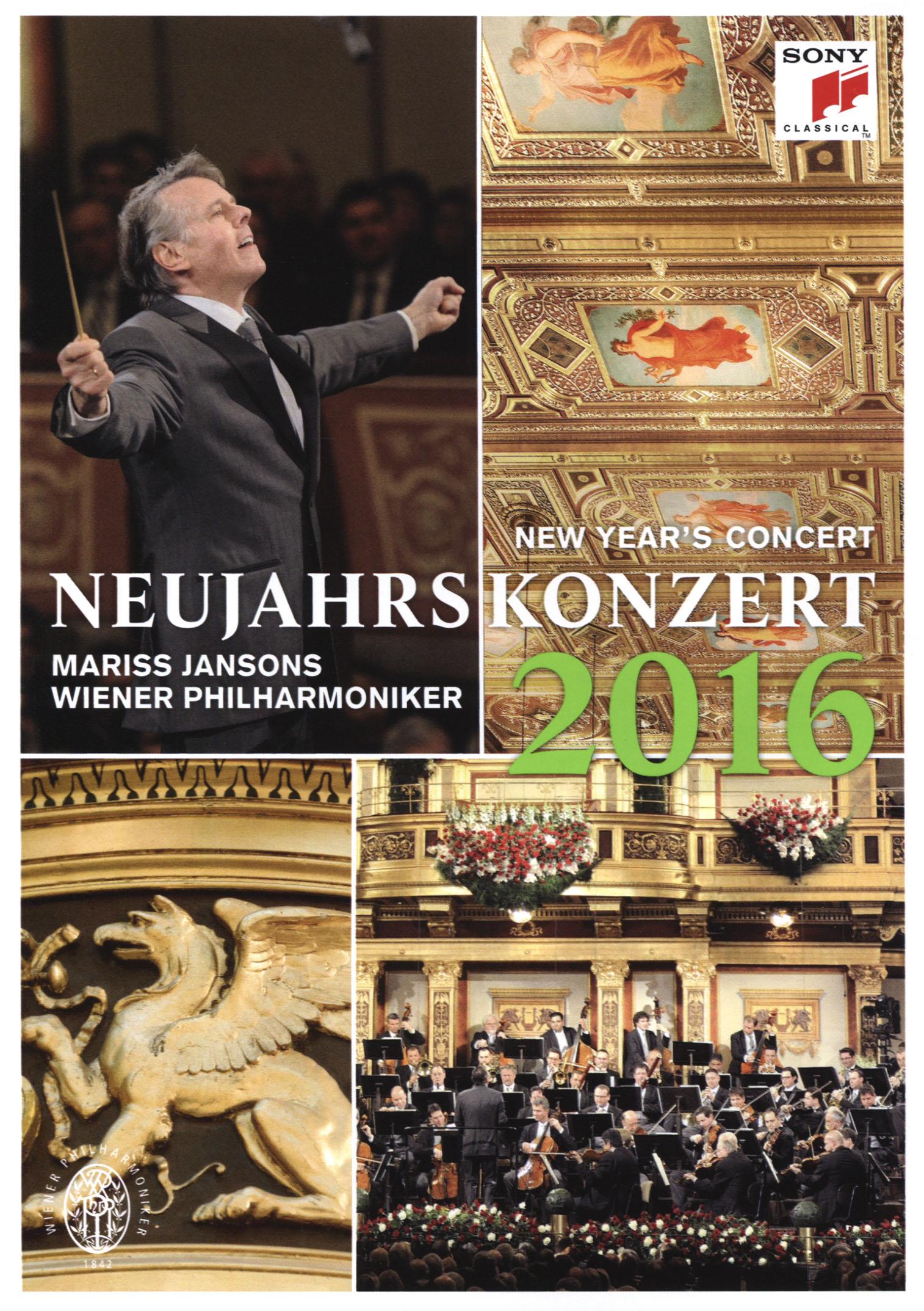 Mariss Jansons/Wiener Philharmoniker: New Year's Concert 2016