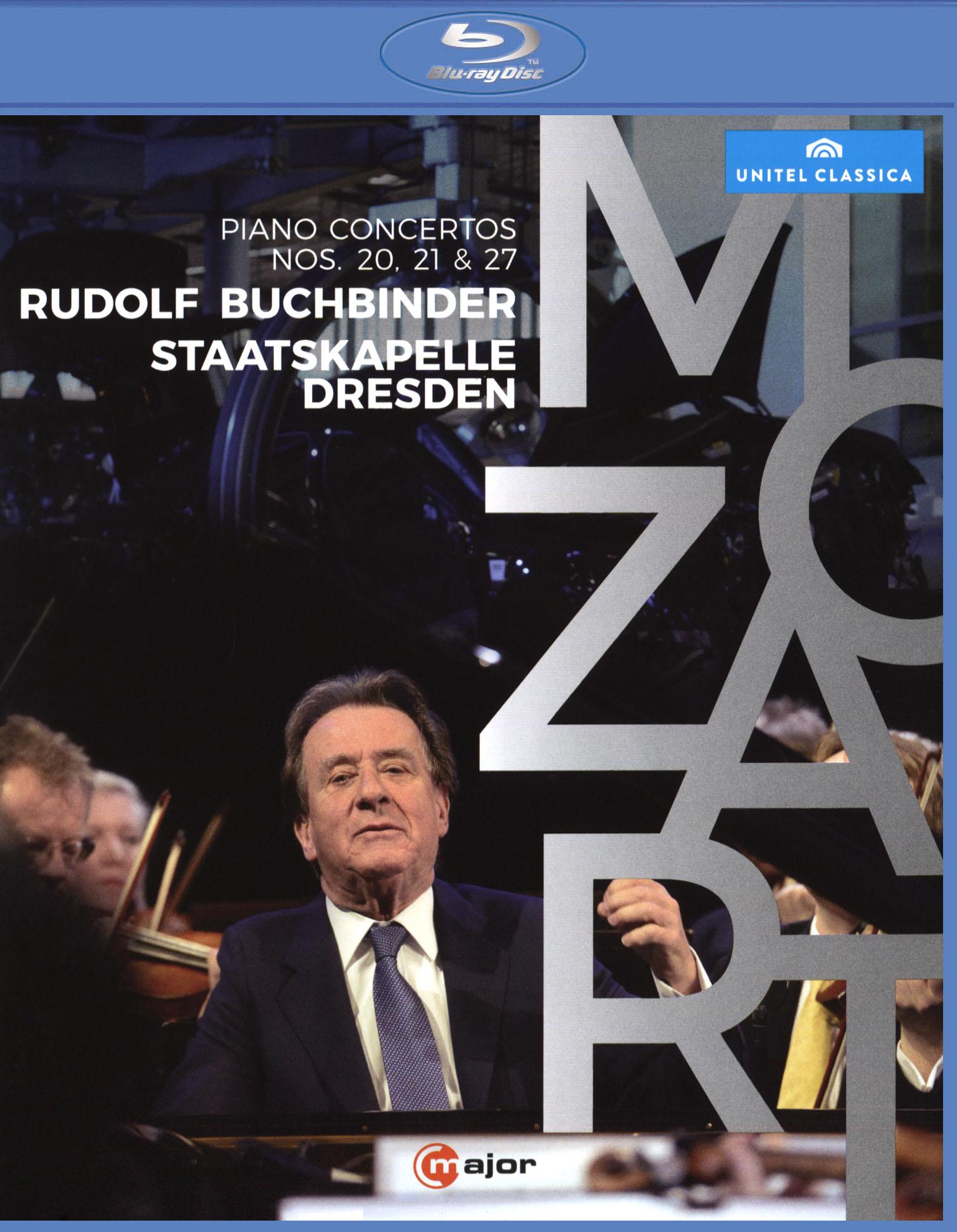 Rudolf Buchbinder/Staatskapelle Dresden: Mozart - Piano Concertos Nos. 20, 21 & 27