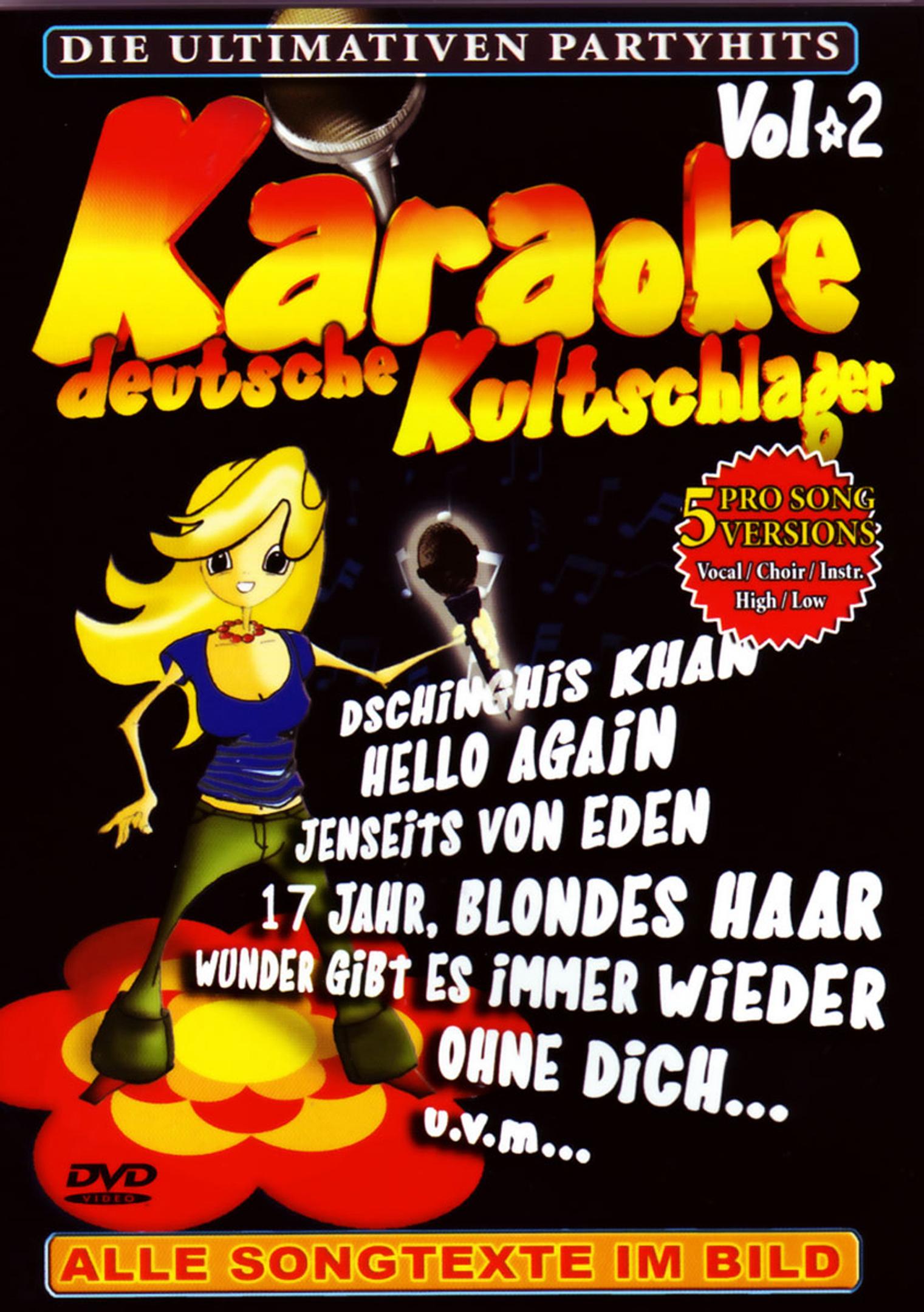 Karaoke: Deutsche Kultschlager - Vol. 2