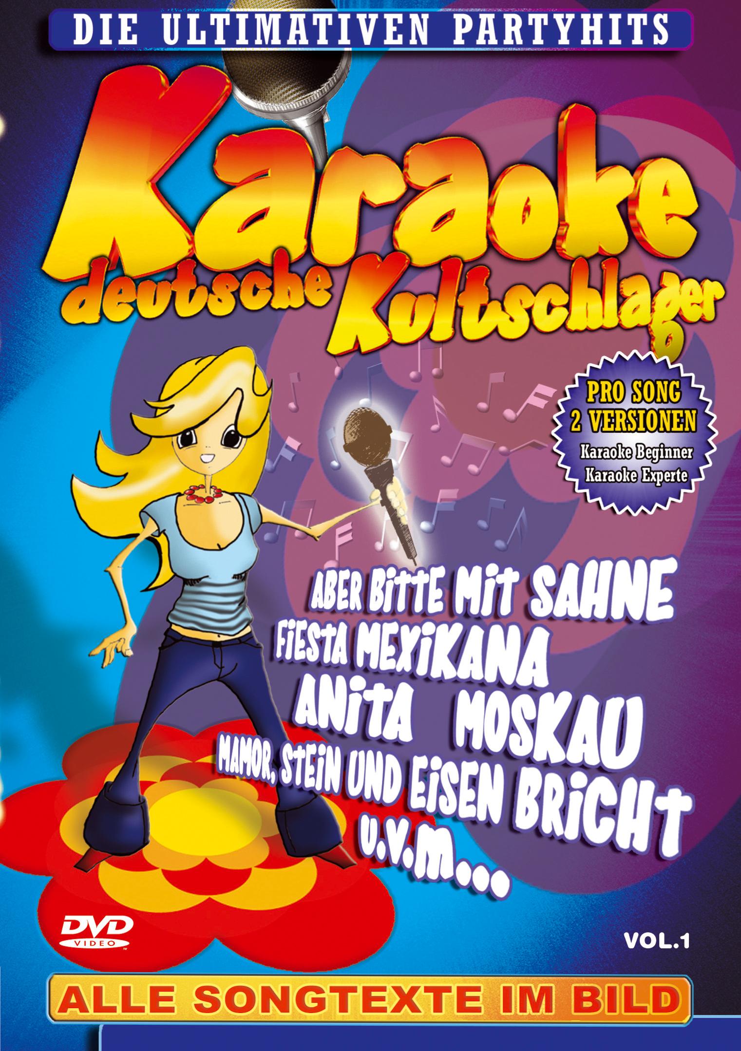 Karaoke: Deutsche Kultschlager - Vol. 1