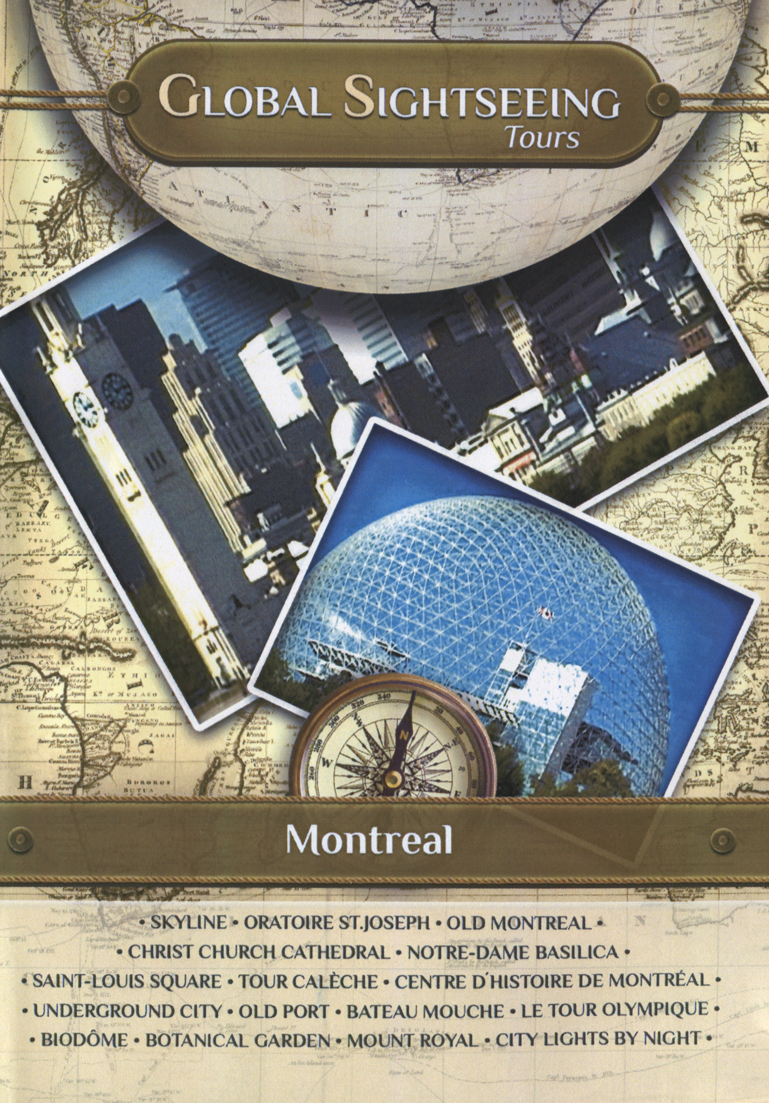 Global Sightseeing Tours: Montreal