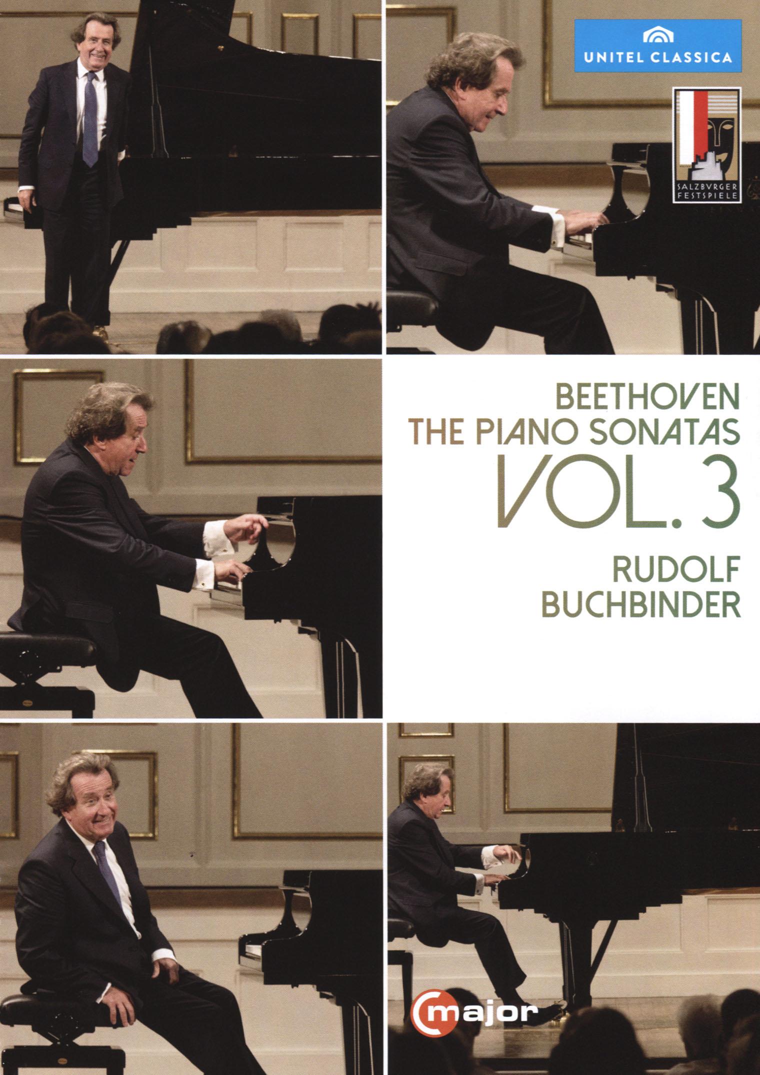 Rudolf Buchbinder: Beethoven - The Piano Sonatas Vol. 3