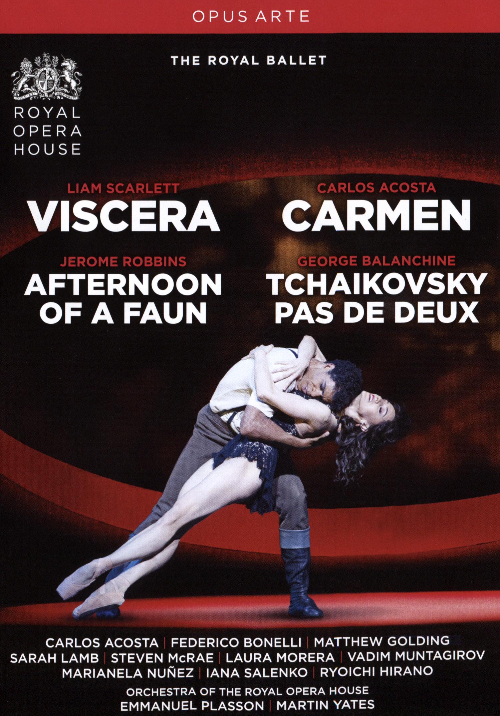 Viscera/Afternoon of a Faun/Carmen/Tchaikovsky Pas de Deux (The Royal Ballet)
