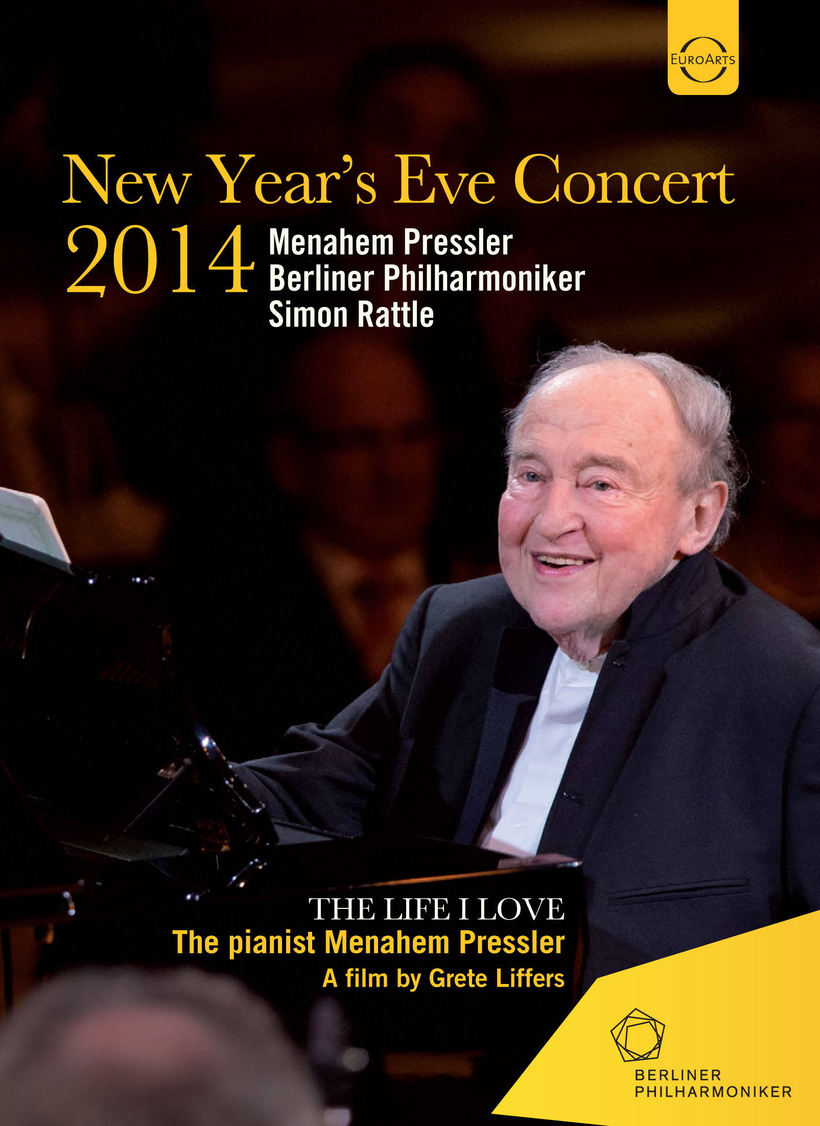 Menahem Pressler/Berliner Philharmoniker/Simon Rattle: New Year's Eve Concert 2014
