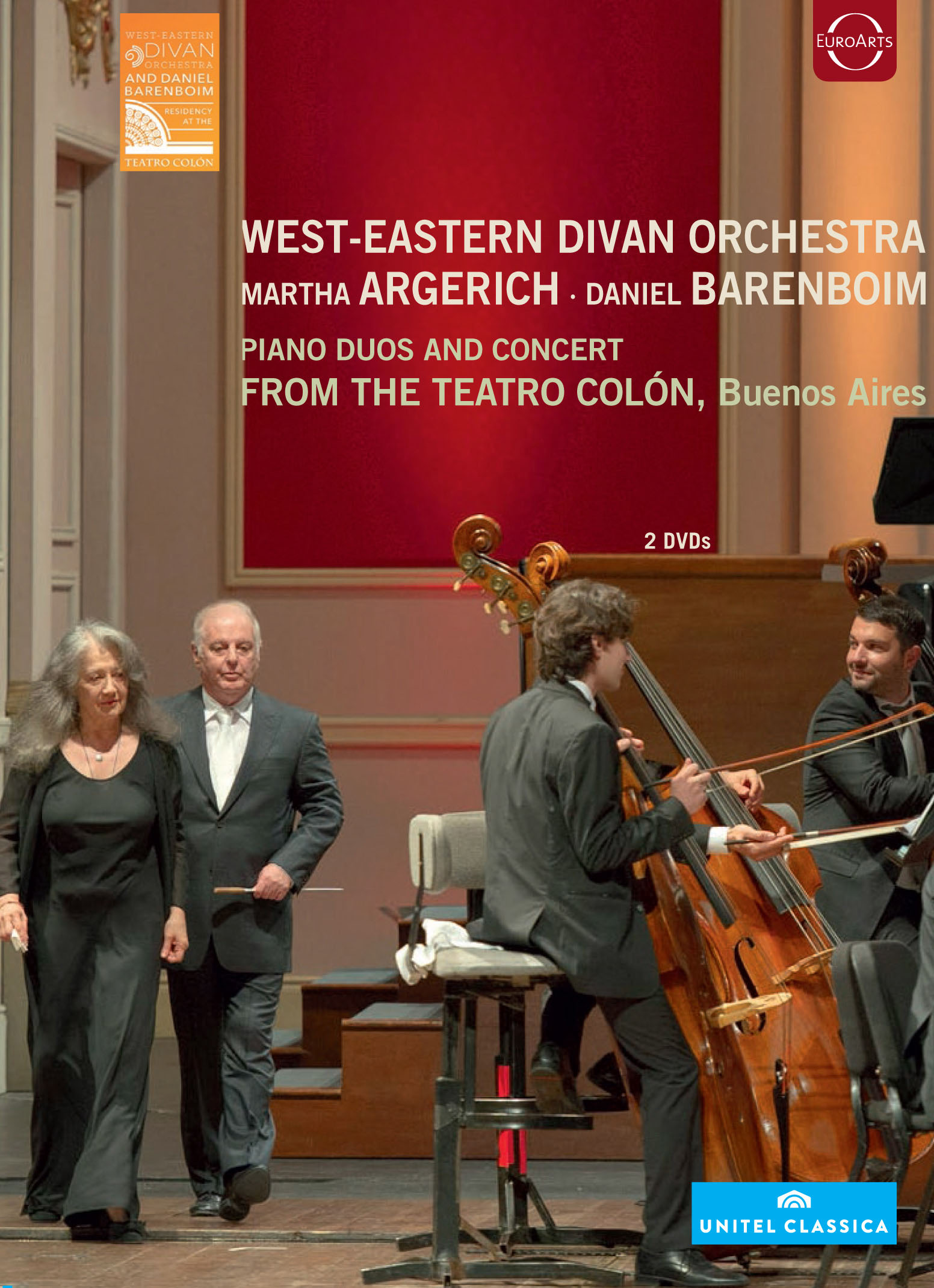 Martha Argerich/Daniel Barenboim: West-Eastern Divan Orchestra