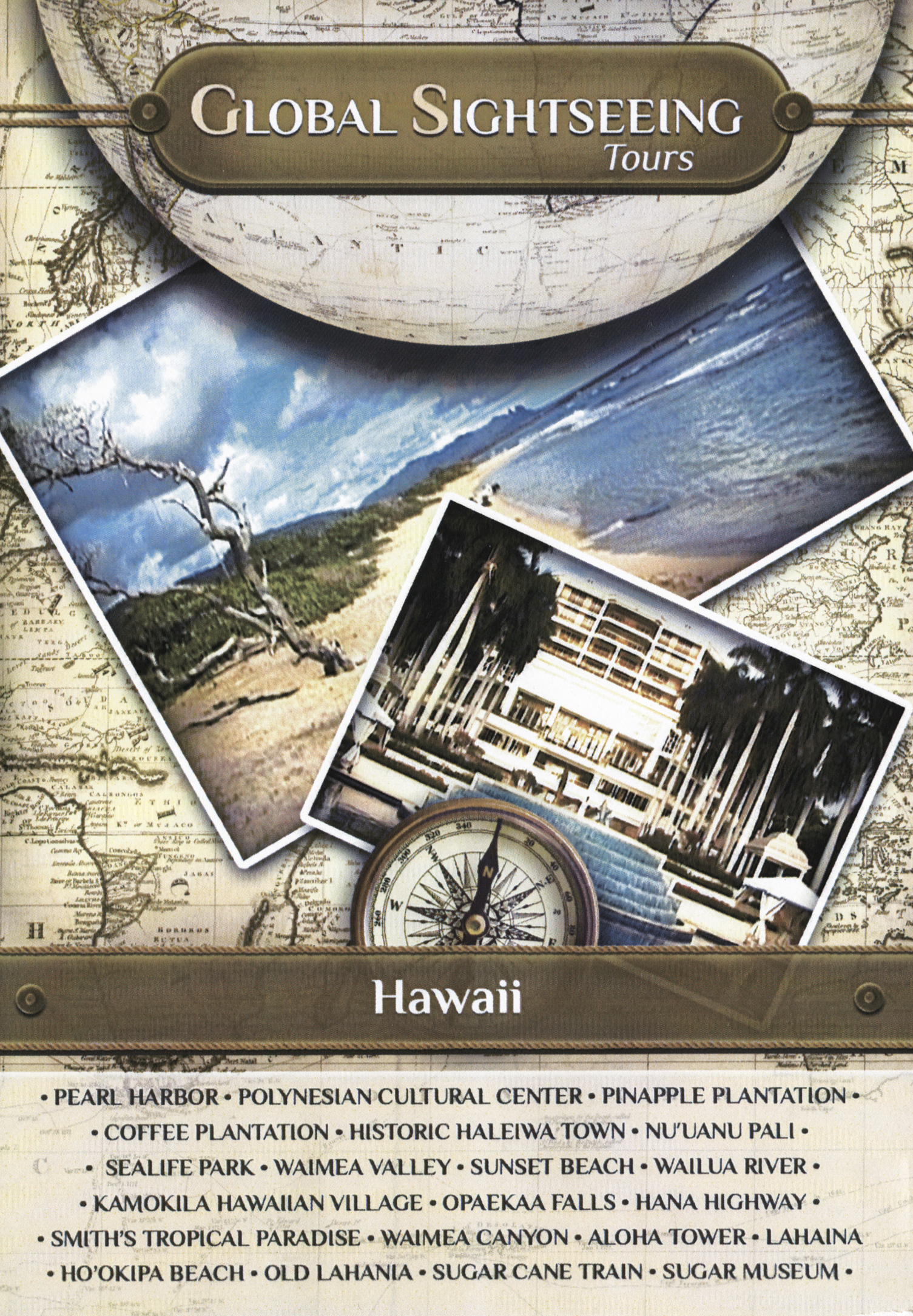 Global Sightseeing Tours: Hawaii