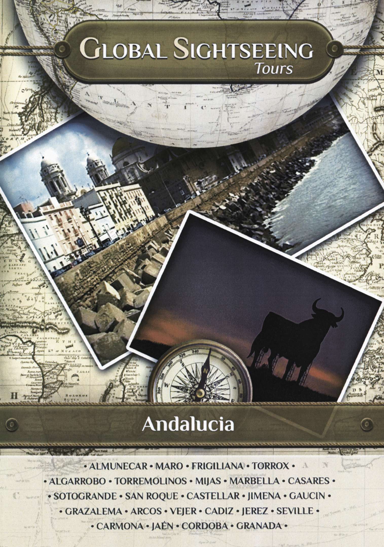 Global Sightseeing Tours: Andalucia