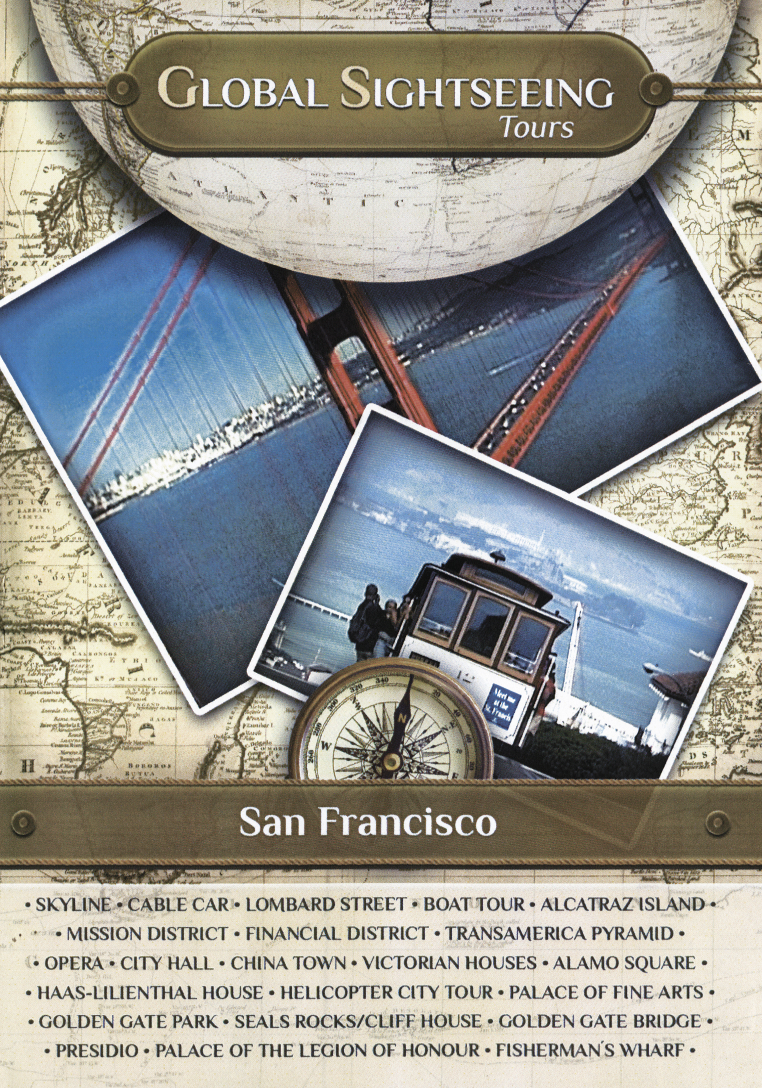 Global Sightseeing Tours: San Francisco