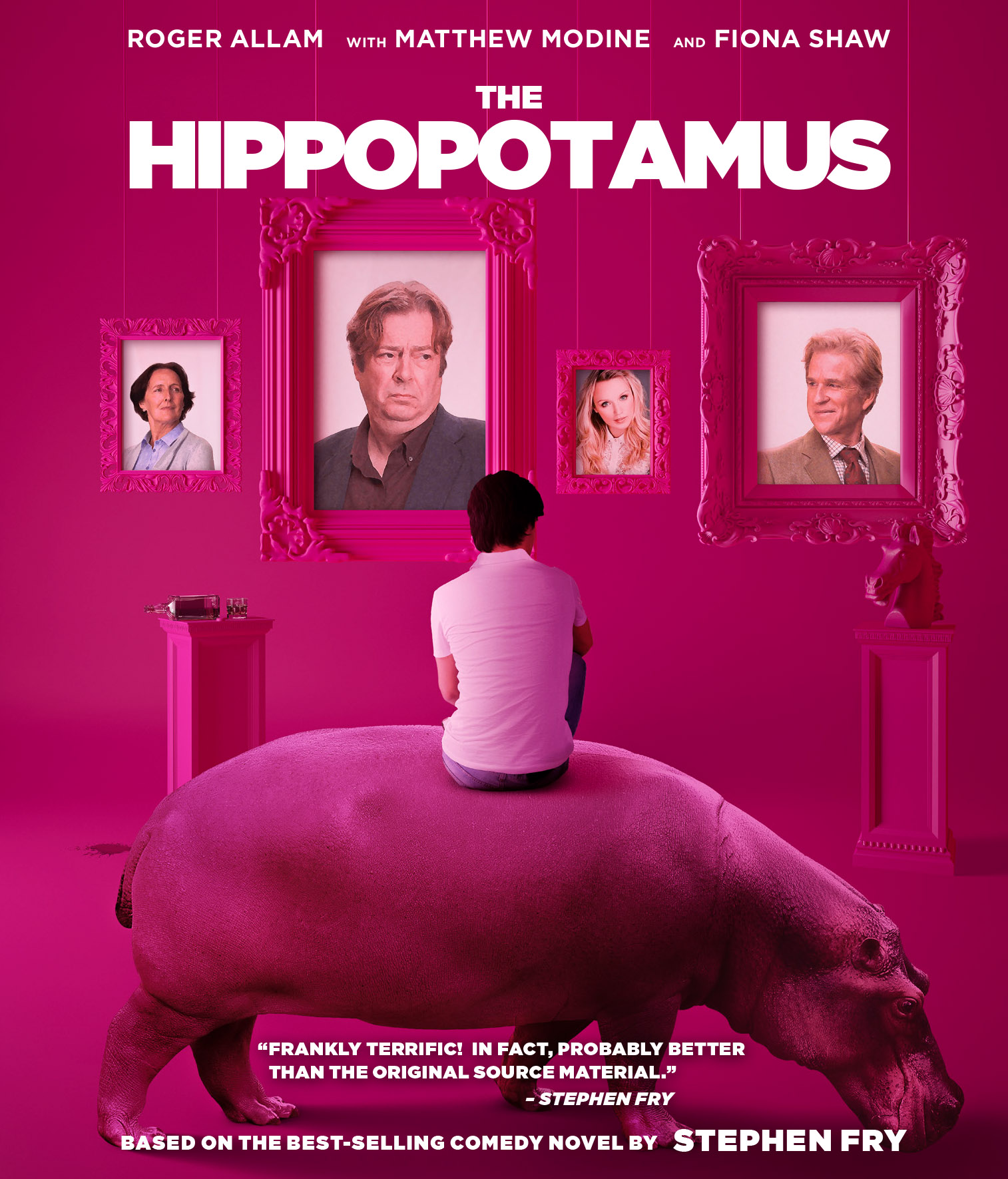 Resultado de imagen de the hippopotamus 2017
