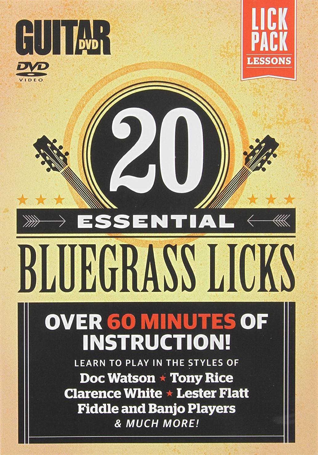 Guitar World: 20 Essential Bluegrass Licks
