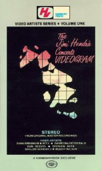 The Jimi Hendrix Concerts Videogram