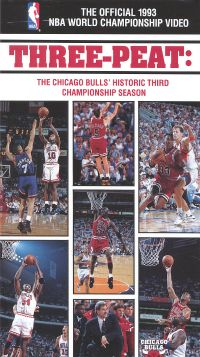 The Official 1993 NBA Championship: Three-Peat
