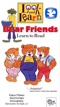 Look and Learn: Bear Friends - Learn to Read