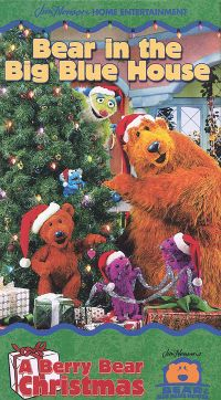 bear in the big blue house a berry bear christmas - Bear Inthe Big Blue House A Berry Bear Christmas