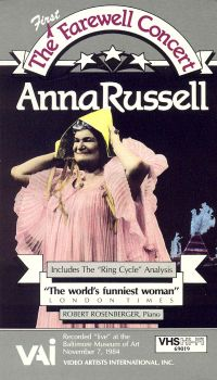 Anna Russell: The (First) Farewell Concert