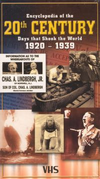 Encyclopedia of the 20th Century: Days That Shook the World, Vol. 2 - 1920-1939