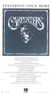 The Carpenters: Yesterday Once More