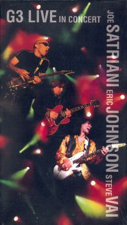 G3 Live in Concert: Satriani, Johnson and Vai