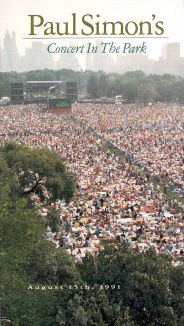 Paul Simon's Concert in Central Park