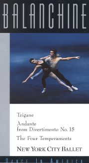 Balanchine: Dance in America - Ttzigane/Andante/The Four Temperaments