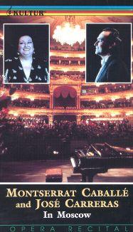 Montserrat Cabelle & Jose Carreras In Moscow