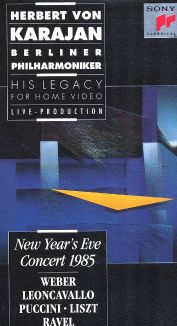Herbert Von Karajan - His Legacy for Home Video: New Year's Eve Concert 1985