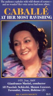 Montserrat Caballe: At Her Most Ravishing