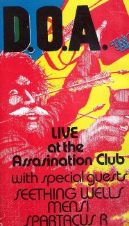 D.O.A.: Positively D.O.A. - Live At the Assassination Club