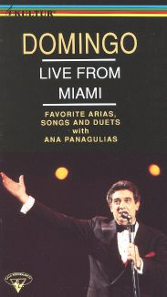 Placido Domingo: Live from Miami