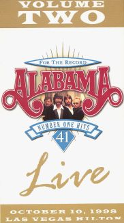 Alabama: For the Record - 41 Number One Hits Live, Volume 2
