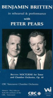 Benjamin Britten: In Rehearsal and Performance
