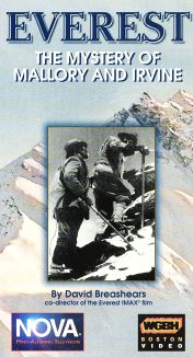 NOVA : Everest: The Mystery of Mallory and Irvine
