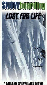 TransWorld Snowboarding: Lust for Life