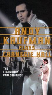 Andy Kaufman from Carnegie Hall