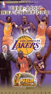 The Official 2000 NBA Championship: Los Angeles Lakers