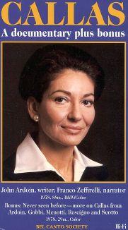 Callas: A Documentary Plus Bonus