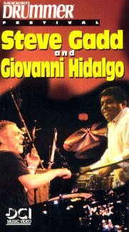 Modern Drummer Festival: Steve Gadd and Giovanni Hidalgo