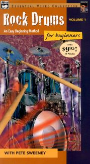 Rock Drums for Beginners with Pete Sweeney, Vol. 1