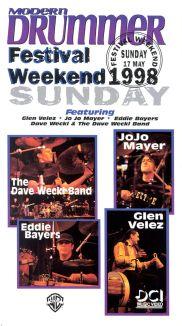 Modern Drummer Festival: Weekend 1998 - Sunday