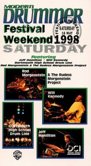 Modern Drummer Festival: Weekend 1998 - Saturday