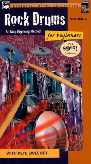 Rock Drums for Beginners with Pete Sweeney, Vol. 2