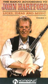 The Banjo According to John Hartford: Licks, Ideas and Music, Vol. 1