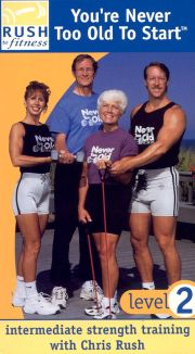 You're Never Too Old to Start, Level 1: Beginner Strength Training with Chris Rush