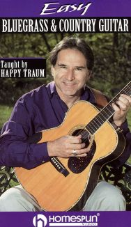 Happy Traum: Easy Bluegrass & Country Guitar