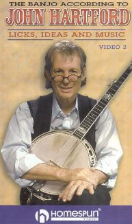 The Banjo According to John Hartford: Licks, Ideas and Music, Vol. 2