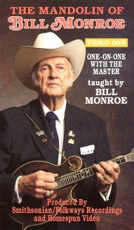 The Mandolin of Bill Monroe, Vol. 1: One on One with the Master